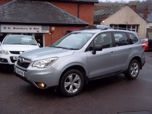 NOW SOLD***2014 SUBARU FORESTER 2.0D X MANUAL