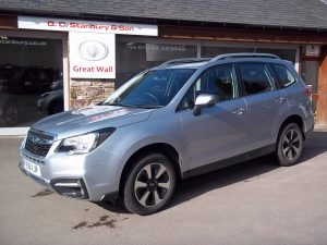 SOLD**2018 (18) SUBARU FORESTER 2.0DXC MANUAL