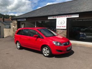 2013(13) VAUXHALL ZAFIRA EXCLUSIVE 1.6